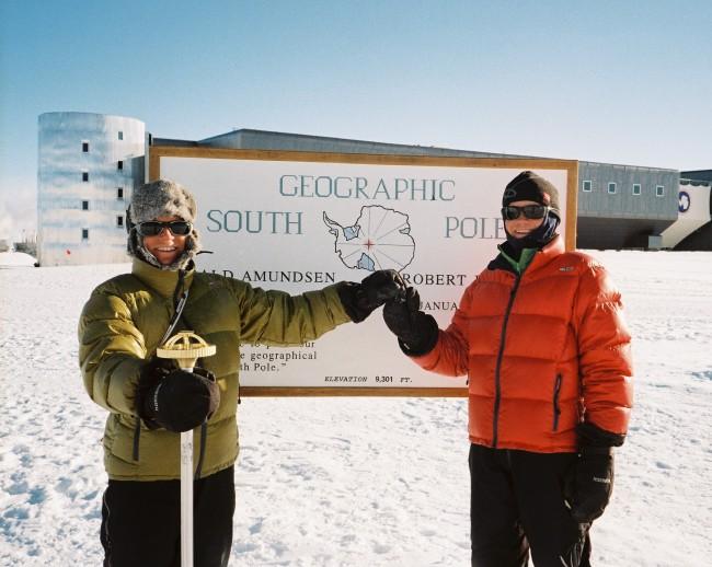 Ine-Lill og Rita på Sydpolen 2008